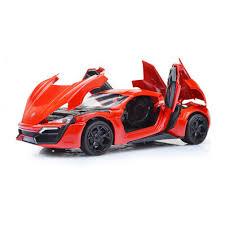 model car toy 1 32 amazon com mallya 1 32 red lykan hypersport diecast model car