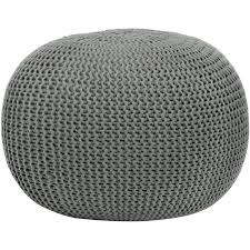 knitted pouf ottoman target knitted pouf ottoman australia braided world market cable knit