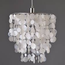 Capiz Light Pendant Diy Faux Capiz Shell Pendant The Chronicles Of Home