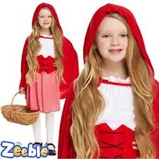 Red Riding Hood Halloween Costume Kids Girls Red Riding Hood Fancy Dress Costume Kids Book