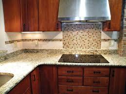 interior backsplash tile ideas modern granite countertops