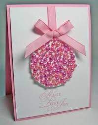 card invitation design ideas pink pearls pink christmas cards
