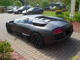 Lamborghini Murcielago Grey - 2009 nero nemesis matte black lamborghini murcielago lp640 coupe