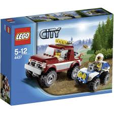 police jeep toy lego city 4437 police pursuit from conrad electronic uk