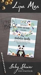 Panda Baby Shower Invitations - 43 best oso panda images on pinterest panda party pandas and