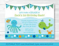 birthday child nautical greeting cards u0026 invitations ebay