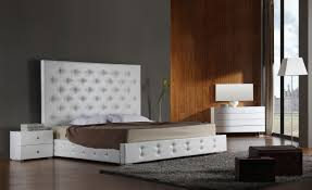 Platform Beds White Modern Platform Bed