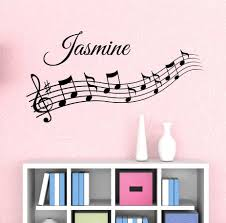 music notes custom name wall decal by decor designs decals kids roo music notes custom name wall decal by decor designs decals kids room decor