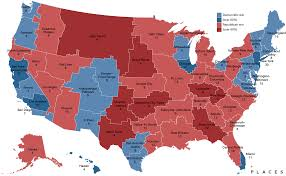 Commute Map This Map Shows What America Might Look Like If States Were Redrawn