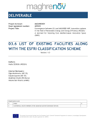adresse si e ocp casablanca maghrenov deliverable 3 6 list of existing facilities along with the