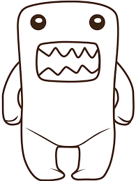 domo coloring pages free download clip art free clip art on