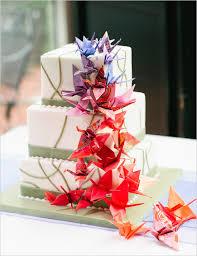 Origami Wedding Cake - 8 fab ways to incorporate origami into your wedding wedding