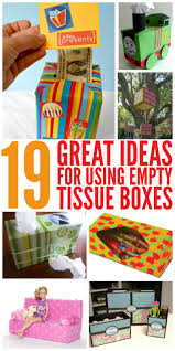 19 great ideas for empty tissue boxes