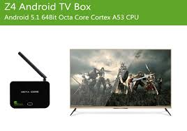 android dlna z4 android tv box android 5 1 64bit octa cpu wi fi