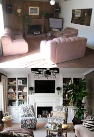 before and after home interior design home design