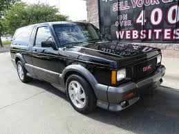 gmc jimmy 1993 used gmc jimmy 2dr typhoon awd at the internet car lot