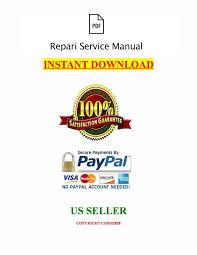 massey ferguson service mf 6400 series repair manual