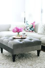 ottoman ideas for living room fashionable light gray ottoman best gray ottoman ideas on grey