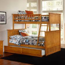 Kids Room Bunk Bed Ideas Types Of Cool Beds For Trundle Beds - Wooden bunk bed with trundle
