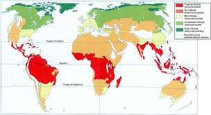 what is a climate map the sixes