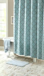 Aqua Blue Shower Curtains Aqua Blue Chevron Shower Curtain Shower Curtains Design