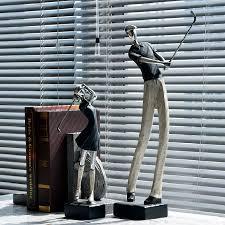 ceramicslife golf ornaments home decor resin sculpture office