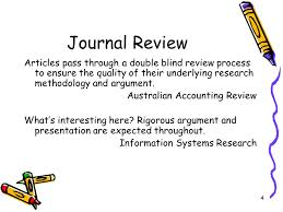 Double Blind Research 1 Brief Review Of Research Model Hypothesis 2 Research Is