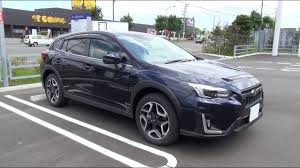 subaru xv interior 2017 2017 new subaru xv 2 0i s eyesight awd exterior u0026 interior youtube