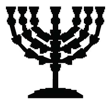 menorah 7 candles menorah 7 candles memorialization personalization s