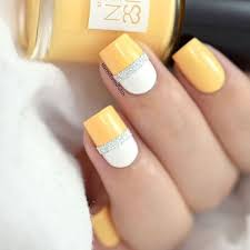 8 easy summer nail designs to try this weekend yellow nails