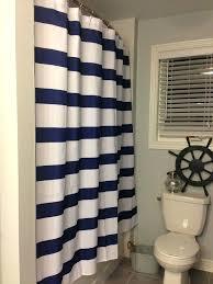 Nautical Bathroom Curtains Shower Curtains Nautical Sgmun Club