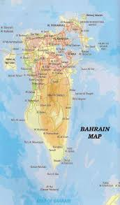 map of bahrain maps of bahrain detailed map of bahrain in tourist map