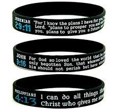 silicone bracelet size images Scripture silicone bracelets bulk 10 pack jeremiah 29 11 john jpg