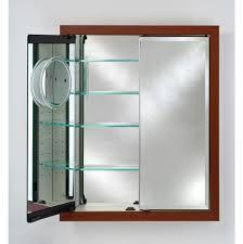 Recessed Medicine Cabinet Wood Door Bathroom Medicine Cabinets Wood Faucets N Fixtures Orange And