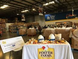sacramento food bank receives 640 turkeys for thanksgiving from