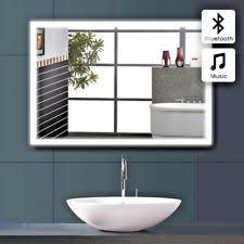 Illuminated Bathroom Mirrors With Shaver Socket Bathroom Mirror Shaver Socket Ebay