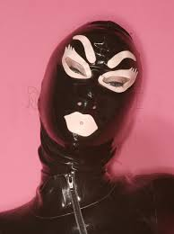 zip mask halloween popular latex mouth mask buy cheap latex mouth mask lots from