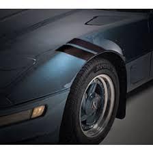 ecklers corvette c4 corvette c4 fender accent stripes dual front black 1984 1996