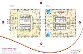 Pent House Floor Plan by 96366 99 100 Penthouse Floor Plan Layout 2 Jpg 4961 3273