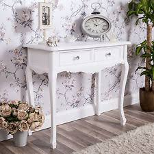 wooden french grey dressing table console hall home furniture