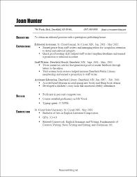 chronological resume exle publishing assistant resume common resume formats chronological