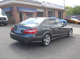 2011 mercedes for sale mercedes e class 2011 in w springfield ma worcester