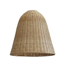 let there be light get your glow with our spun rattan large light