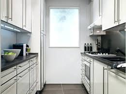 am駭agement cuisine en longueur comment amenager une cuisine en longueur cuisine en