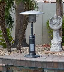 gas patio heater parts outdoor tabletop patio heater hammered silver finish tabletop