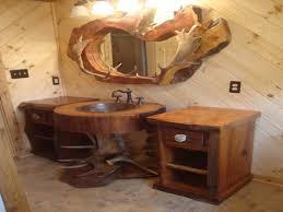 Rustic Bathroom Vanities For Vessel Sinks Elegant Rustic Bathroom Ideas Vessel Sink For Diy Vanity Double