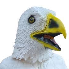 wholesale 2016 masquerade masks eagle mask latex animal costume