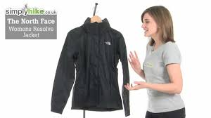 the north face womens resolve jacket youtube
