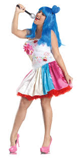 Xl Womens Halloween Costumes Katy Perry Size 1 Xl 16 24 Candy California Girls Costume