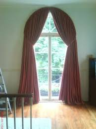 Curtains For Arch Window Arched Window Curtain Pole Curtain Blog